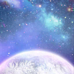 space outterspace galaxy galaxybackground moon freetoedit