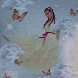 oliviarodrigo oliviarodrigostan aesthetic butterfly clouds freetoedit