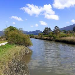 okaibaia urdaibai hodeiak river clouds