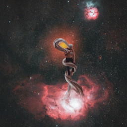 freetoedit space universe magical digitalart manipulation editbyme stars