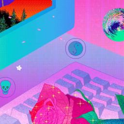 wallpaper aesthetic vaporwave