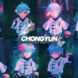 genshinimpact chongyun genshinimpactchongyun freetoedit