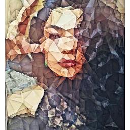 freetoedit girl beauty portrait polygoneffect