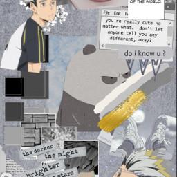 animeedit anime bokutokotaro haikyu bokuto animeboys animeedits