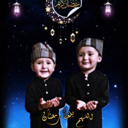 ramadan dua muslim baby pray muhammad ahmad design freetoedit