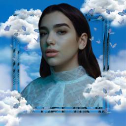 dualipa dualipalove dua_lipa dualipablue blue blueaesthetic bluebackground dualipawallpaper clouds cloud butterfly butterflies bluebutterflies bluebutterfly levetating freetoedit