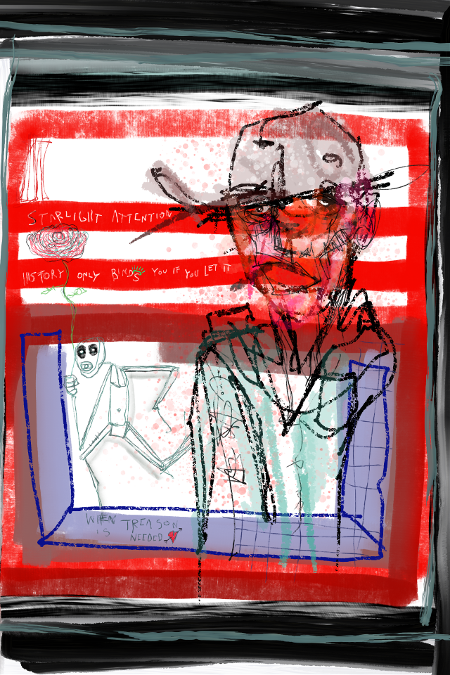 """Television Set Mirrors And A way to escape"" #art #artist #abstract #sonnythesaint #sonnyleel #neoexpressionism #digitalpainting #painting #modernart #contemporaryartist #contemporaryart #grafittiart #outsiderart"