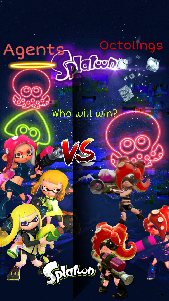 #Idk #veemo #splatoon #octoexpansion #octolings #agent4 #agnet3 #agent8 #splatoon2 Leave your comments below to see who will win!