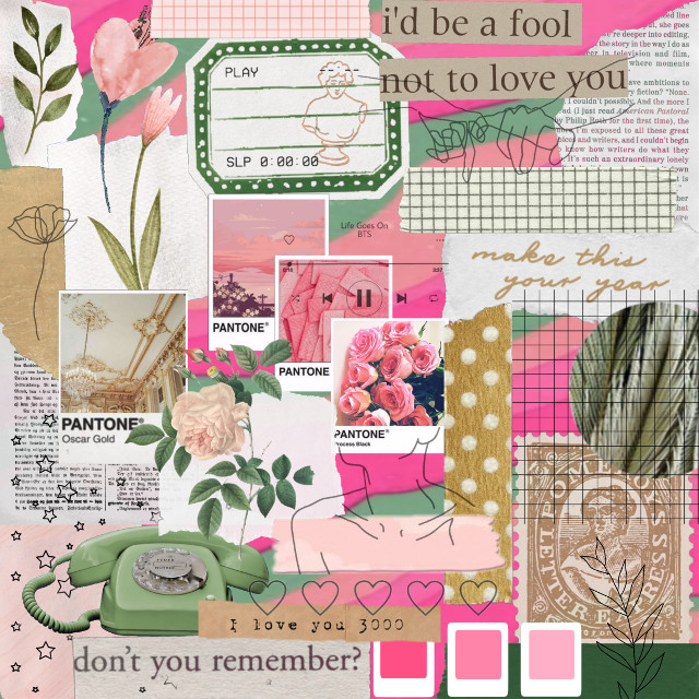 #myaestheticedit #myedit #myoriginaledit #collage #collageedit #magazine #green #pink #greenaesthetic #pinkaesthetic #goldaesthetic #gold #cutout #sticker #stickerremix #stickers
