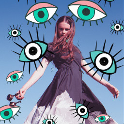freetoedit eye eyes mysticker ircfashionpose