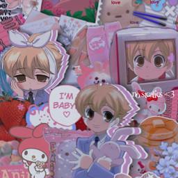 honeysenpai ohshc ouranhighschoolhostclub honeysenpaiedit anime freetoedit