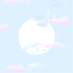 sky earlymoon clouds inserttexthere template mrssge