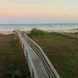 freetoedit sunset beach dock summer