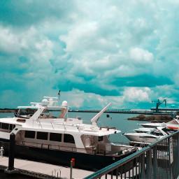 dock goldenugget boardwalk boat sky