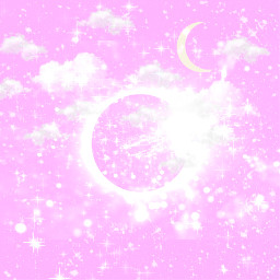 freetoedit background pink cosmos sky