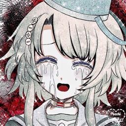 asthetic astheticallypleasing astheticedit animeedit anime icon iconedit sparkle sparkleedit animegirl kanna kannakizuchi yttd yourturntodie kannayttd green freetoedit