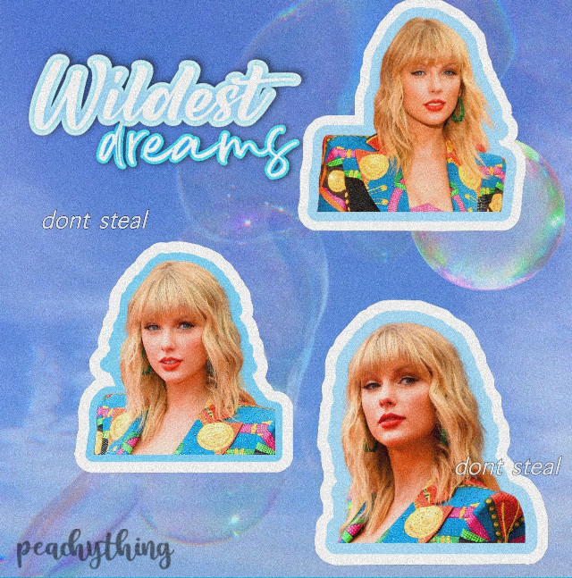 """wildest dreams""  taylor swift edit :)   hope you like it! ✨💙   #tswift #taylorswift #wildestdreamstaylorsversion #peachything #aesthetic"
