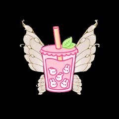 edits edit overlay overlays wings drink pink stickers sticker freetoedit