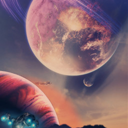 freetoedit space planets naves_espaciais art fcexpressyourself