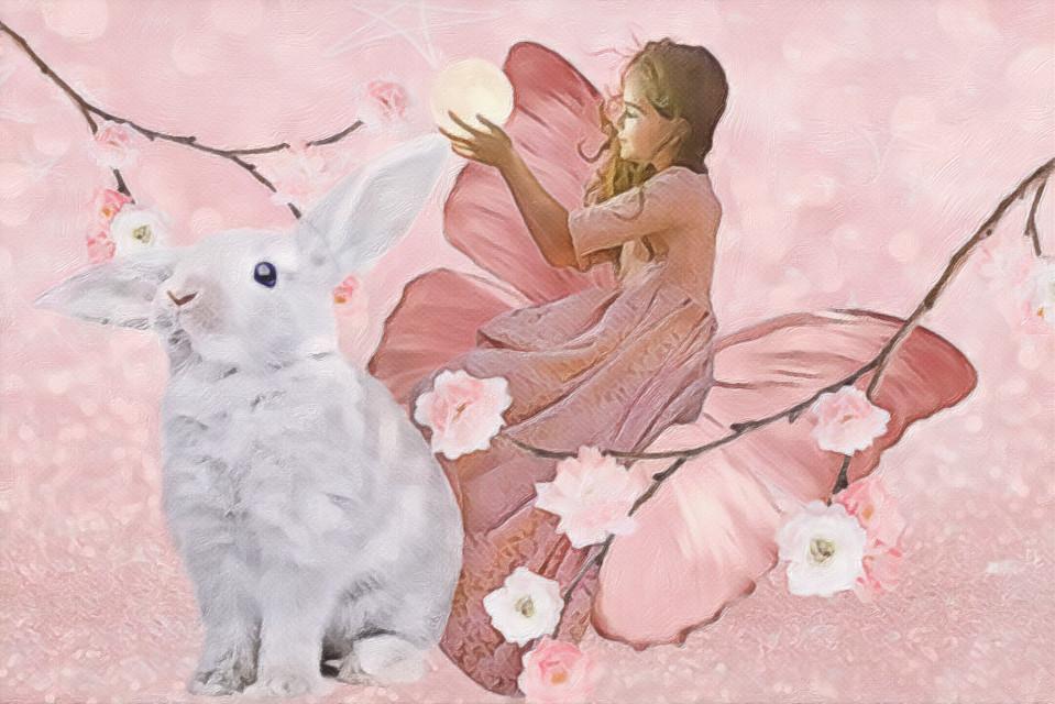 #pastel #pink #fantasy #spring #freetoedit