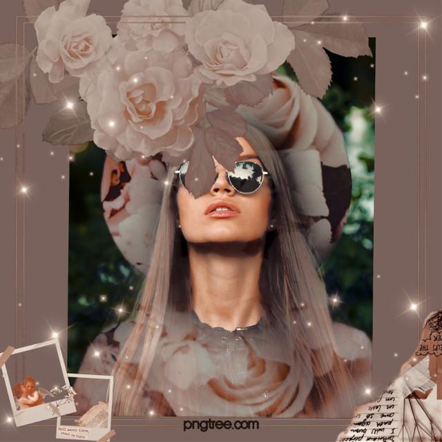 #replay #picsartreplay #art #trendy #portrait #woman #flowers