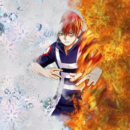 shoutotodoroki fire ice yuei bnhatodoroki freetoedit