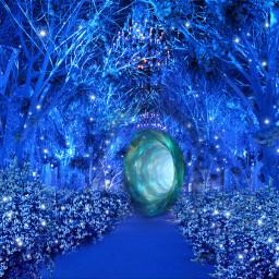 fantasybackground freetoedit portal