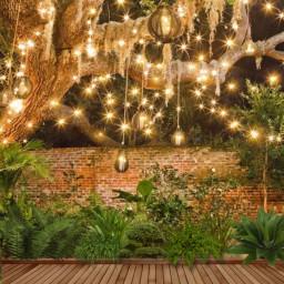 patio background night courtyard freetoedit