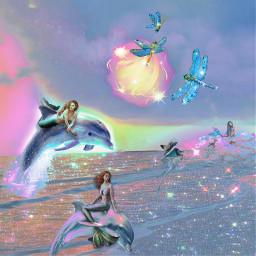 fantasy mermaids freetoedit