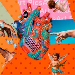 madewithpicsart picsart creative arte heart color remix remixit