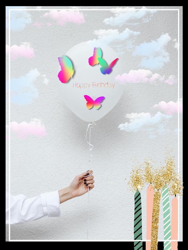 #challenge #clouds #ballons #happybirthday #birthday