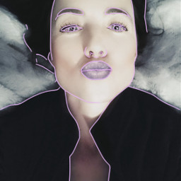 art photography lineart portraitphotography artist danalakat freetoedit
