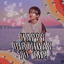 birthday happybirthdaytome kimtaehyung vbts bts taehyungbts