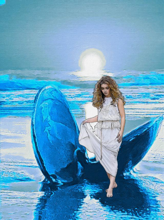 #venus #clamshell #beach #ocean #freetoedit