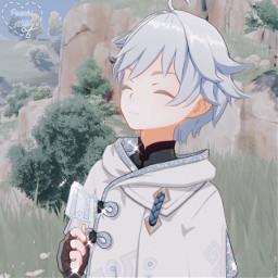 asthetic astheticallypleasing astheticedit animeedit anime icon iconedit sparkle sparkleedit animeboy genshinimpact chongyunedit chongyungenshinimpact chongyun genshinimpactedit genshinedit
