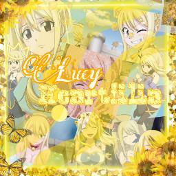 fairytail lucy lucyheartfilia yellow yellowaesthetic walpaperlucy backgroundyeloow france freetoedit