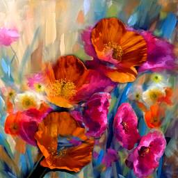 flower picsart digitalart colorful artisticexpression abstractart fantasyart myedit mydesign remixed freetoedit