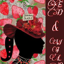 red wild strawberries background ecdeliciousbackgrounds deliciousbackgrounds freetoedit