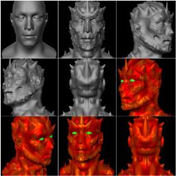 series caveman 3d sculpting creative digitalart