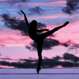 balerin freetoedit ircballerinesilhouette ballerinesilhouette