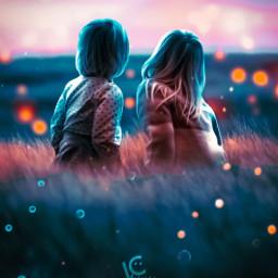 followmeplease couple romantic love boy girl grass blur bush followme freetoedit