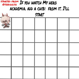 mha bnha mhachallenge bnhachallenge anime freetoedit