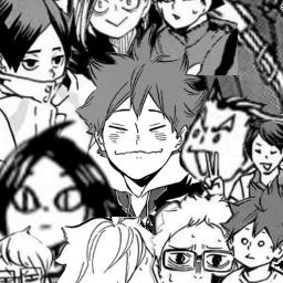обои хайкью аниме волейбол anime wallpaper haikyuu