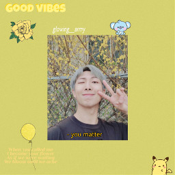 kimnamjoon rm bts kpop edit freetoedit