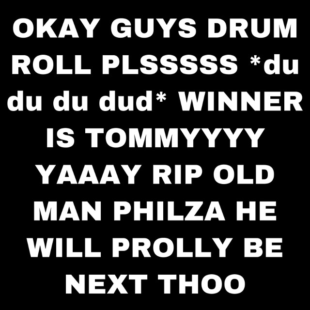 TY FOR HELPING GUYS TOMMY WON XDXDXDXDX  #tommyinnit