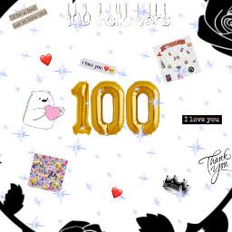 100followers thanks muchasgrciass💕💕💕 freetoedit muchasgrciass
