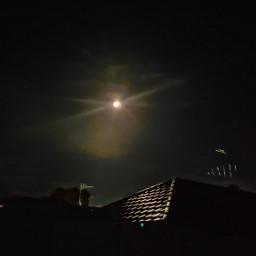 moonlight nighttime nightsky reflection freetoedit fcexpressyourself expressyourself