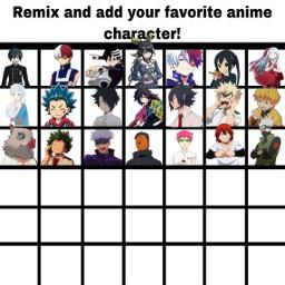 anime naruto jujutsukaisen mha animefan freetoedit