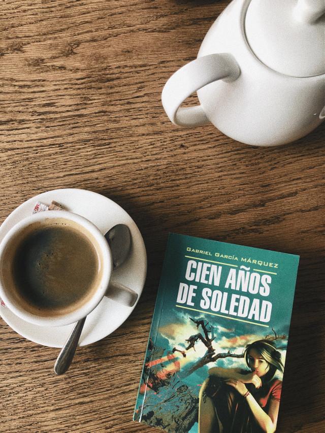 #cienanosdesoledad #book #coffee