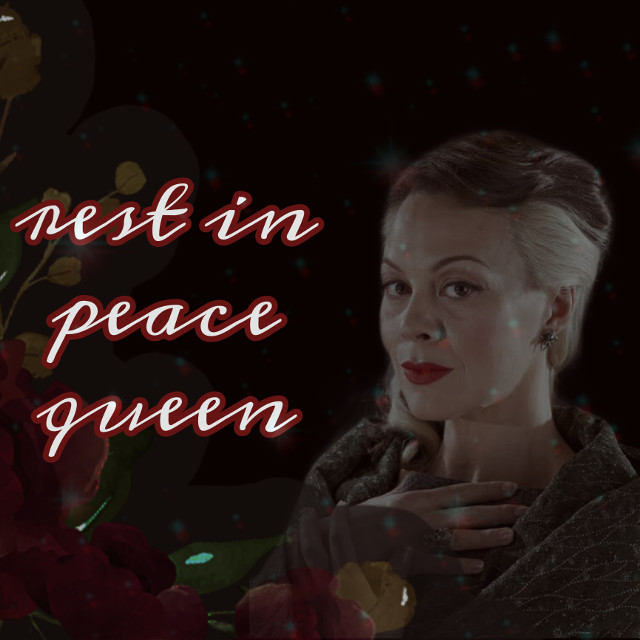 rest in peace queen, you are forever a legend❤️  #helenmccrory #riphelenmccroy